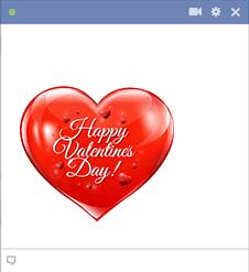 Valentine Heart Emoji