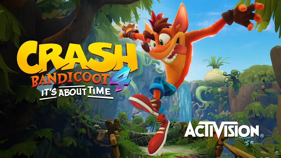 crash bandicoot 4 it's about time ps4 xbox one toys for bob activision 2020 platform game n sane trilogy orange marsupial