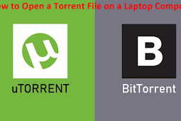 How to Open and Download Files Torrent on a Computer PC Laptop