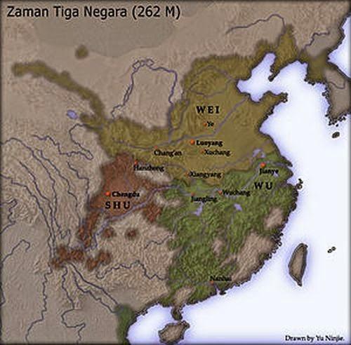 Peta Tiga Negara (Sam Kok)