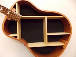 Guitarra estantería
