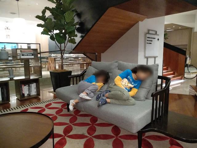 Hotel selesa di Ipoh bersama anak-anak