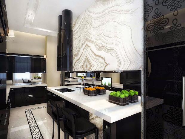 Luxury Life Design Classic And Glamorous Apartment