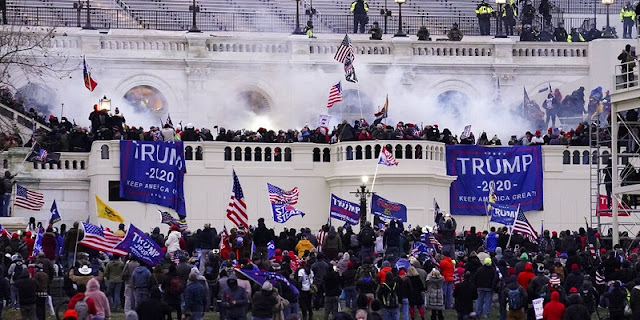 Pasca Kerusuhan Capitol Hill, 30 Ribu Republikan Membelot