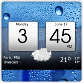 Digital clock & weather APK
