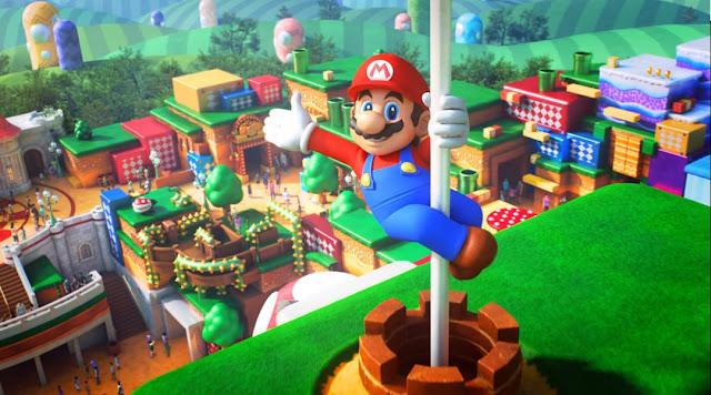 اللعبة الثالثة :  Super Mario Odyssey