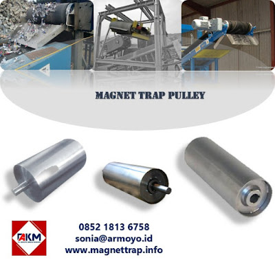 pulley magnet trap