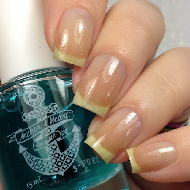 Anchor & Heart Lacquer-Iron Anchor Strengthening Base Coat