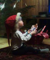 Pikkutonttu, lapsenlapsi, joulu