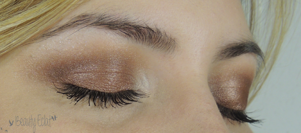 tutoriel maquillage marron corail lumineux
