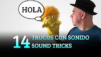 14 Trucos con sonido, MAGIA-CIENCIA, 14 Sound tricks