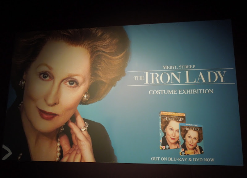 Iron Lady costume exhibit London Film Museum