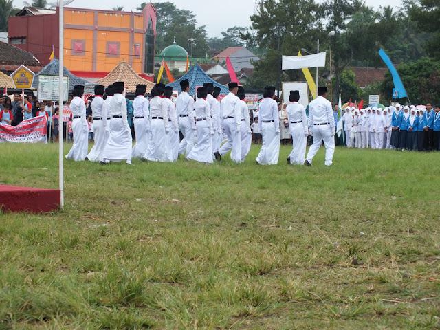 Pasukan Pengibar Bendera (PASKIBRA) Kecamatan Kawali