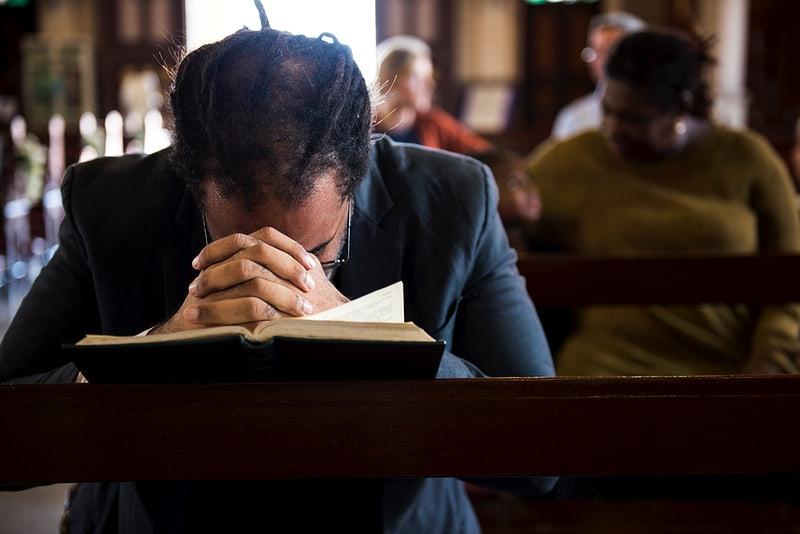 berdoa, gereja, renungan