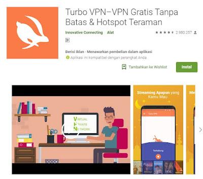 Aplikasi VPN Gratis android