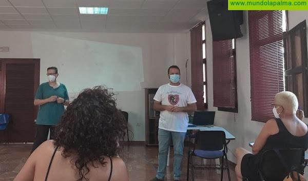 El Ayuntamiento de Los Llanos de Aridane forma al personal de limpieza sobre protección, desinfección e higiene frente al Covid-19