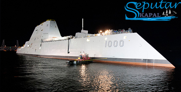 Kapal DDG 1000 Zumwalt Destroyers