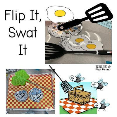 flip it, swat it sight words