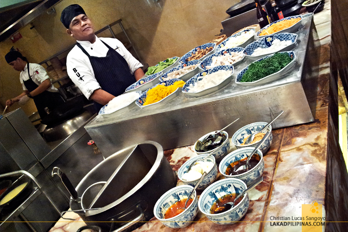 Marriott Café Manila Noodles Section