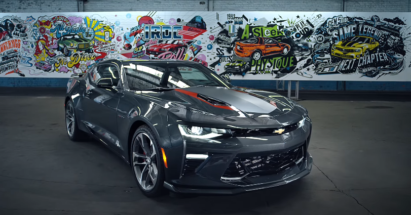 ea4bc5283e6 Celebrate the Camaro 50th Anniversary – Camaro Is Art | Chevrolet |  AdStasher