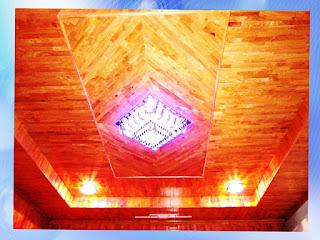 Sàn gỗ cao su - FJL ốp trần