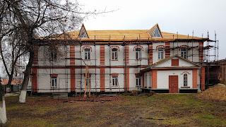 Густиня. Свято-Троїцький монастир. Келії монастиря