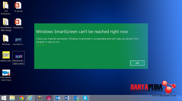 Cara Disable the SmartScreen Filter pada Windows 8/8.1