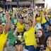 Vibração da torcida no jogo Brasil x México