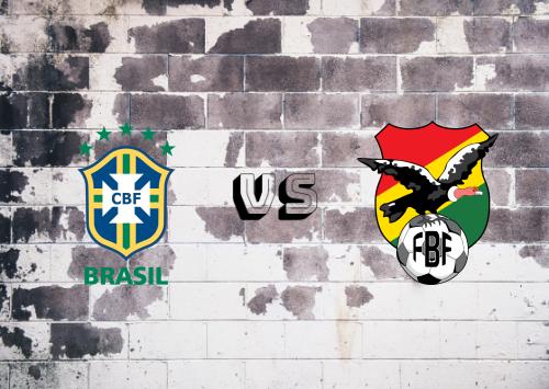 Brasil vs Bolivia  Resumen y Partido Completo