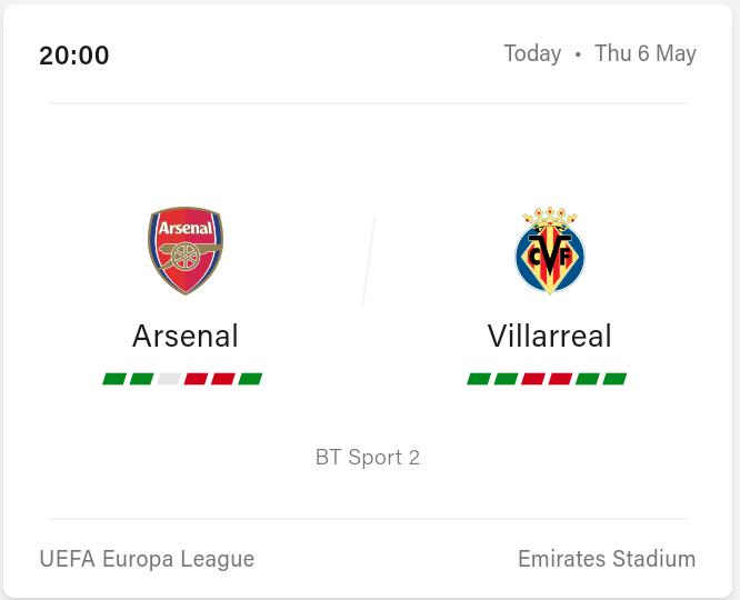 Arsenal vs Villarreal Preview, Prediction and LiveStream