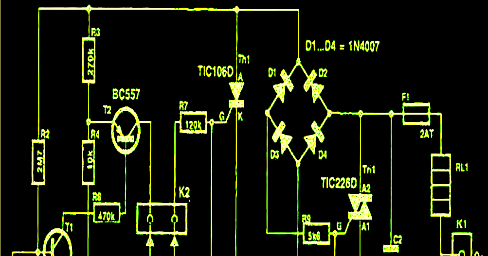 Making a 220v to 110V Transformerless Converter Circuit