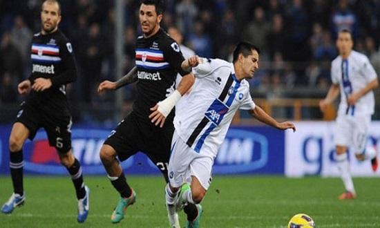Chủ nhà Sampdoria được tin tưởng hơn ơ trận đấu tới.