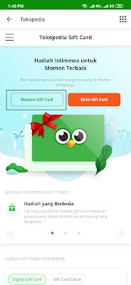 cara redeem kode giftcar dari yougov