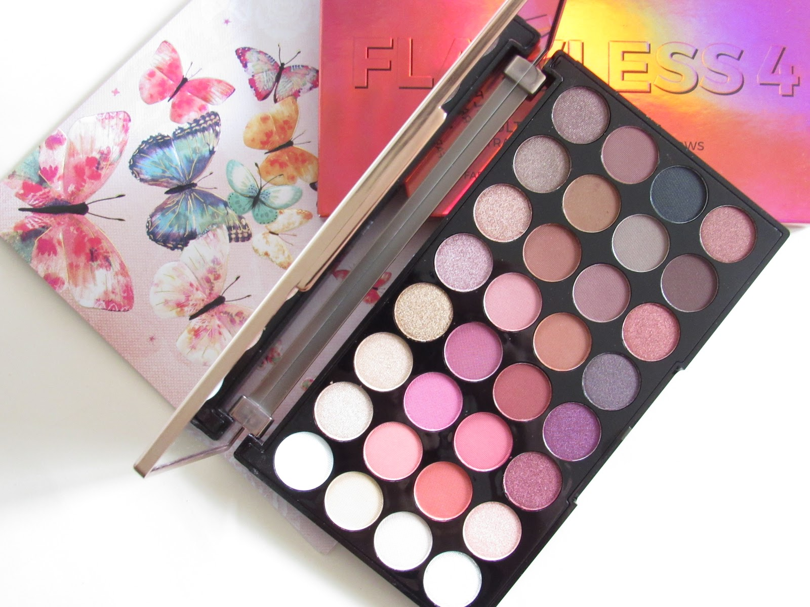 Blooming Fiction, lifestyle blog, Makeup Revolution Flawless 4 Eyeshadow Palette