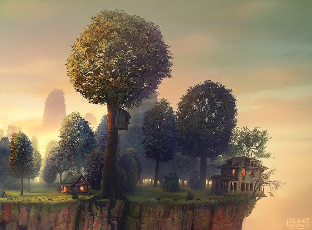 07-Detail-Gediminas-Pranckevičius-Floating-Worlds-Surreal-Digital-Art-www-designstack-co