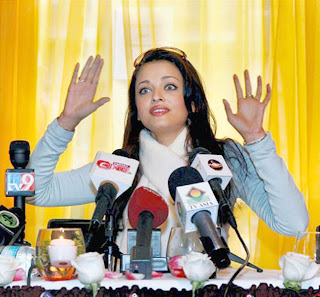 Aishwarya Rai Talking To Media 2