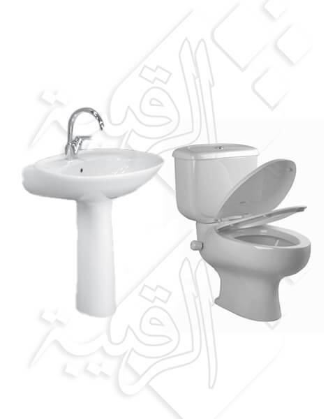 طقم حمام أيديال ستاندر كامل موديل نيوكابري