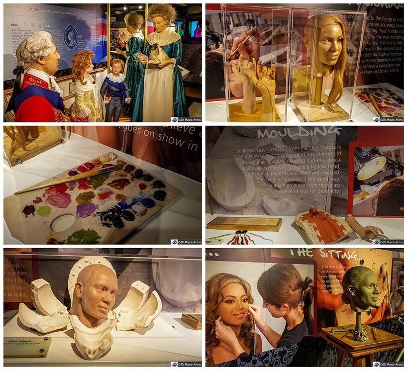 Criação dos bonecos de cera no Museu Madame Tussauds. Como visitar o museu de cera de Londres