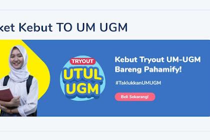 Review Paket Kebut TO UM UGM Pahamify (Fitur, Harga dan Kode Diskon)