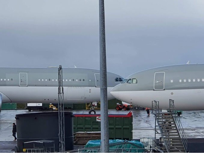 Second Airbus A330-300 arrives in Ireland West Airport Knock