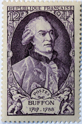 France stamp Georges-Louis Leclerc, Comte de Buffon