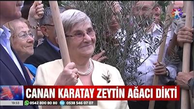 """Zeytin fidanı dikerken """"Kıtlık kapıda"""" dedi"""