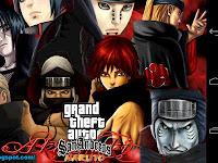 GTA San Andreas Modpack Naruto Apk Final V by Lutfi