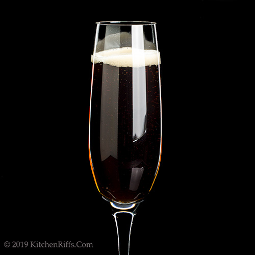 The Black Velvet Cocktail