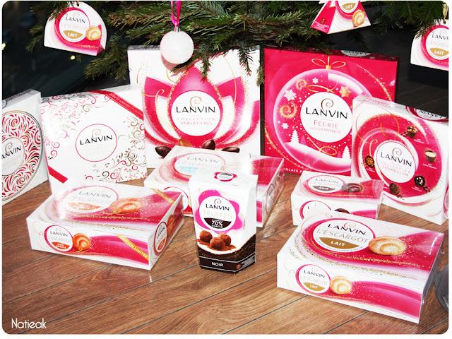 design 2016 des boites de chocolats Lanvin
