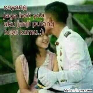 gambar kata kata romantis cinta buat pacar tersayang yang jauh
