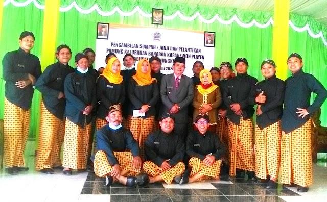 Pamong Kalurahan Banaran dilantik 19 Juni 2020