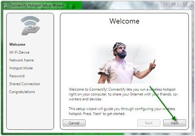9 Langkah Membuat HotSpot menggunakan Connectify di Windows 7