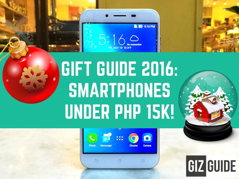 GIZGUIDE Gift Guide 2016: Smartphones Under PHP 15K!