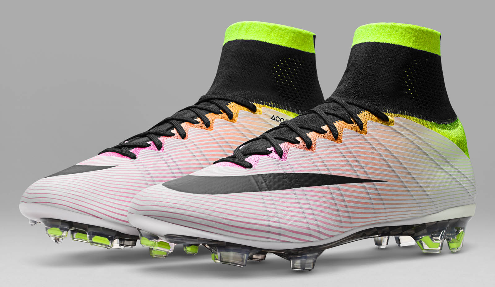 new styles fa696 52cad nike mercurial superfly pink and white parts